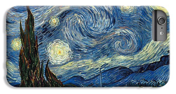 Impressionism iPhone 8 Plus Case - Van Gogh Starry Night by Granger
