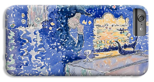 Cross iPhone 8 Plus Case - Venice, Night Of The Festival Of The Redeemer by Henri-Edmond Cross