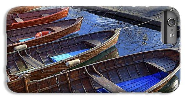 Boat iPhone 8 Plus Case - Wooden Boats by Joana Kruse