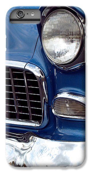 Car iPhone 8 Plus Case - 1955 Chevy Front End by Anna Lisa Yoder