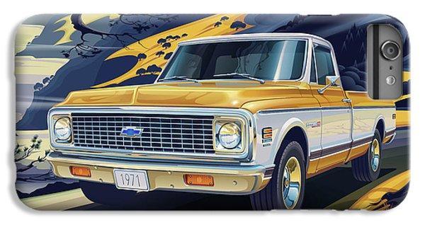Truck iPhone 8 Plus Case - 1971 Chevrolet C10 Cheyenne Fleetside 2wd Pickup by Garth Glazier