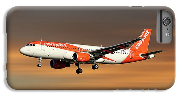 Jet iPhone 8 Plus Case - Easyjet Airbus A320-214 by Smart Aviation
