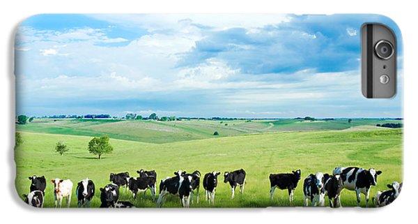 Cow iPhone 8 Plus Case - Happy Cows by Todd Klassy
