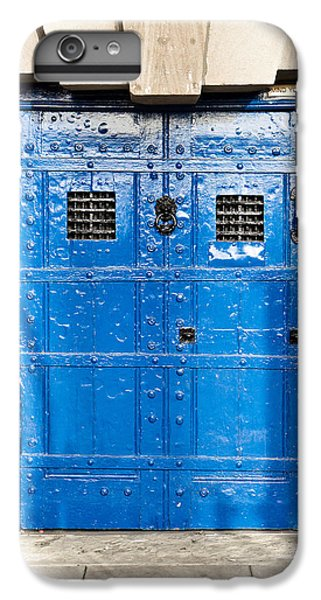 Dungeon iPhone 8 Plus Case - Old Blue Door by Tom Gowanlock