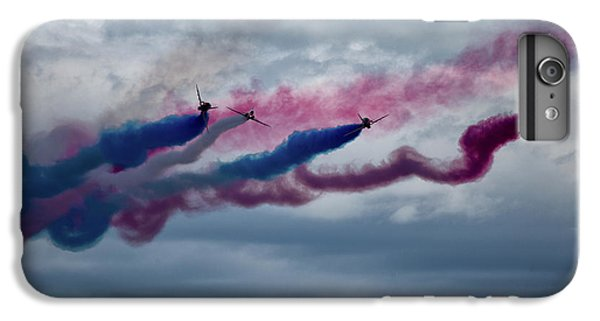 Airplane iPhone 8 Plus Case - The Red Arrows by Smart Aviation