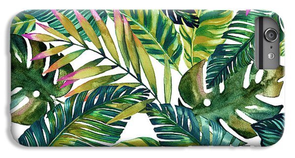 Flowers iPhone 8 Plus Case - Tropical  by Mark Ashkenazi