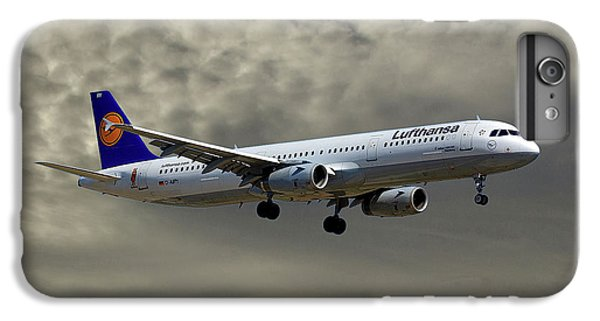 Jet iPhone 8 Plus Case - Lufthansa Airbus A321-131 by Smart Aviation