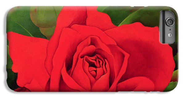 Rose iPhone 8 Plus Case - The Rose by Myung-Bo Sim