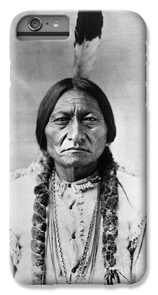 Bull iPhone 8 Plus Case - Sitting Bull 1834-1890. To License For Professional Use Visit Granger.com by Granger