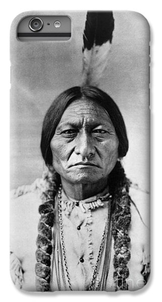 Bull iPhone 8 Plus Case - Sitting Bull 1834-1890. To License For Professional Use Visit Granger.com by Granger