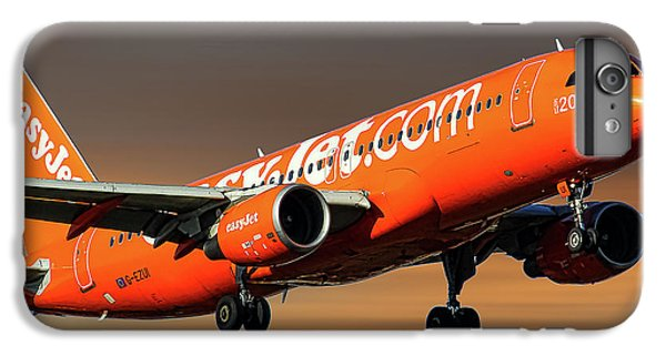 Jet iPhone 8 Plus Case - Easyjet 200th Airbus Livery Airbus A320-214 by Smart Aviation
