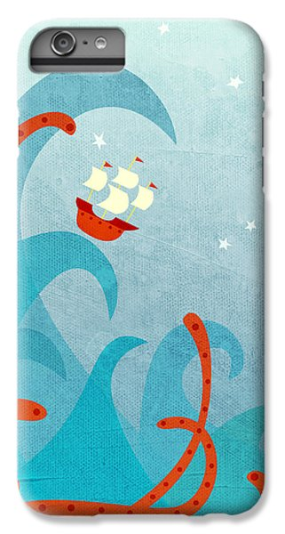 Boat iPhone 8 Plus Case - A Bad Day For Sailors by Nic Squirrell
