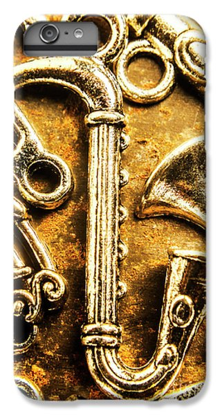 Saxophone iPhone 8 Plus Case - A Classical Composition by Jorgo Photography - Wall Art Gallery