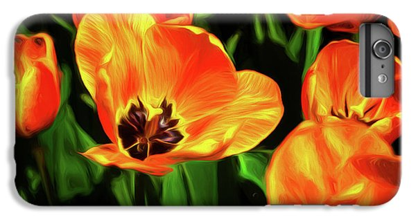 Tulip iPhone 8 Plus Case - A Splash Of Color by Tom Mc Nemar