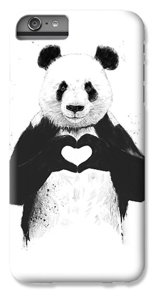 Animals iPhone 8 Plus Case - All You Need Is Love by Balazs Solti