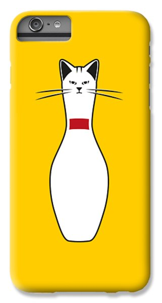 Cat iPhone 8 Plus Case - Alley Cat by Nicholas Ely