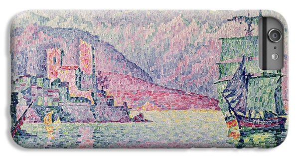 Impressionism iPhone 8 Plus Case - Antibes by Paul Signac