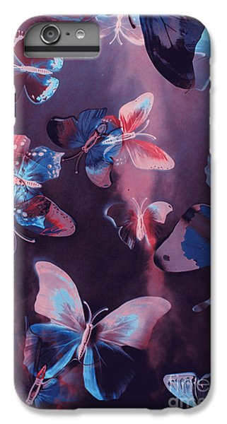 Fairy iPhone 8 Plus Case - Artistic Colorful Butterfly Design by Jorgo Photography - Wall Art Gallery