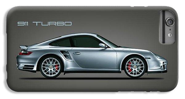 Car iPhone 8 Plus Case - Porsche 911 Turbo by Mark Rogan