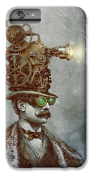 Magician iPhone 8 Plus Case - The Projectionist by Eric Fan