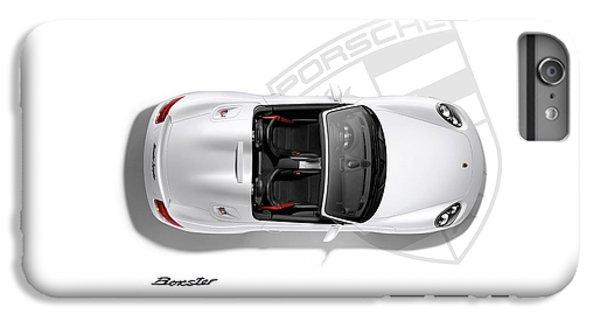 Car iPhone 8 Plus Case - Porsche Boxster by Mark Rogan