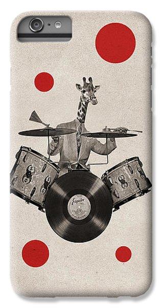 Drum iPhone 8 Plus Case - Animal19 by Francois Brumas