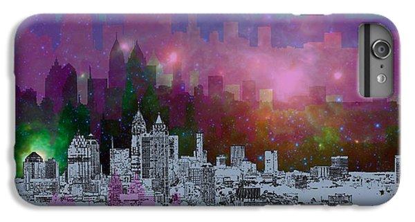 City Scenes iPhone 8 Plus Case - Atlanta Skyline 7 by Alberto RuiZ