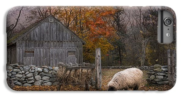 Sheep iPhone 8 Plus Case - Autumn Sweater by Robin-Lee Vieira