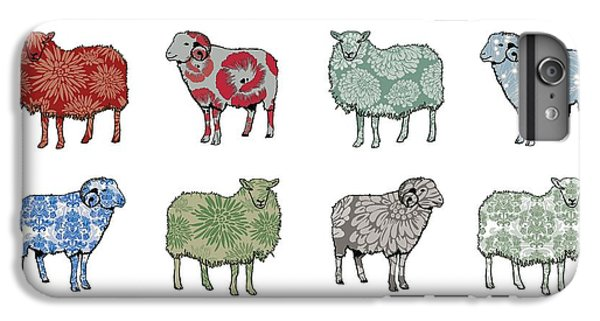 Sheep iPhone 8 Plus Case - Baa Humbug by Sarah Hough