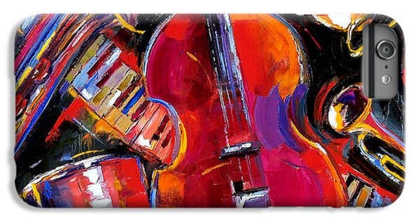Trumpet iPhone 8 Plus Case - Bass And Friends by Debra Hurd