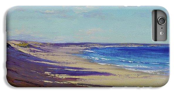 Impressionism iPhone 8 Plus Case - Beach Sand Shadows by Graham Gercken