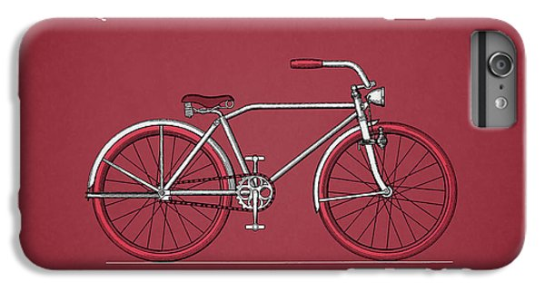 Bicycle iPhone 8 Plus Case - Bicycle 1935 by Mark Rogan