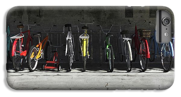 Bicycle iPhone 8 Plus Case - Bike Rack by Cynthia Decker