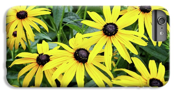 Daisy iPhone 8 Plus Case - Black Eyed Susans- Fine Art Photograph By Linda Woods by Linda Woods