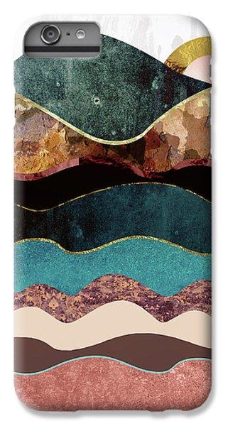 Landscapes iPhone 8 Plus Case - Blush Moon by Katherine Smit