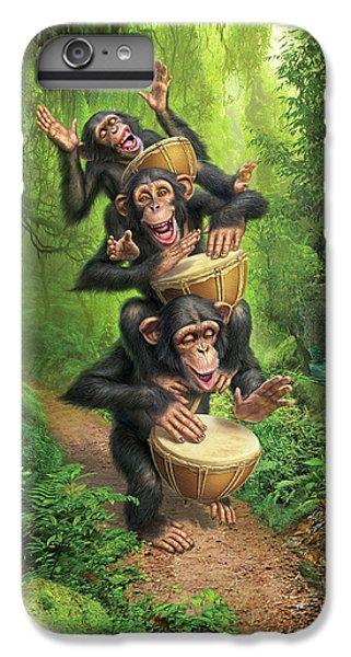 Drum iPhone 8 Plus Case - Bongo In The Jungle by Mark Fredrickson
