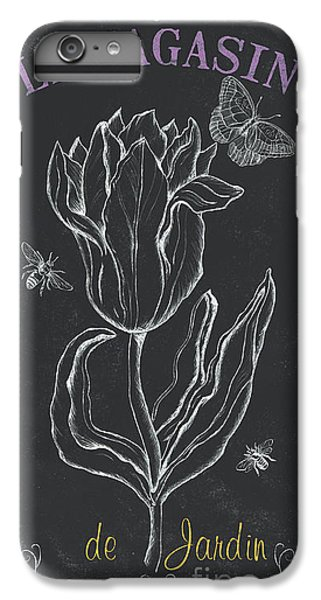 Tulip iPhone 8 Plus Case - Bortanique 4 by Debbie DeWitt