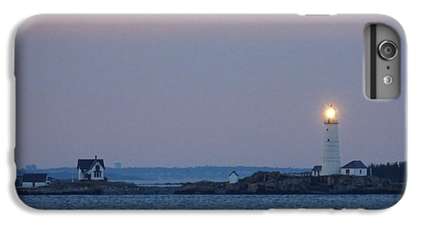 iPhone 8 Plus Case - Boston Light Lighthouse  by Red Cross