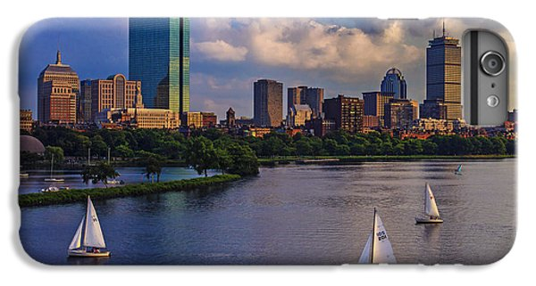 City Scenes iPhone 8 Plus Case - Boston Skyline by Rick Berk