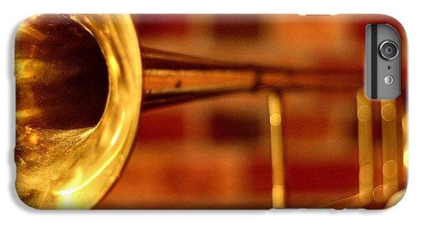 Trombone iPhone 8 Plus Case - Brass Trombone by David  Hubbs