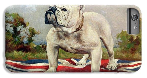 Dog iPhone 8 Plus Case - British Bulldog by English School