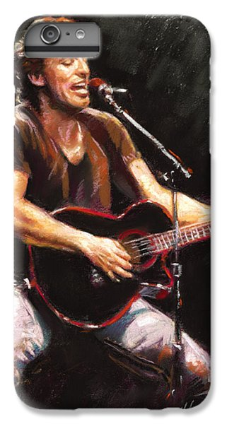 Rock And Roll iPhone 8 Plus Case - Bruce Springsteen  by Ylli Haruni