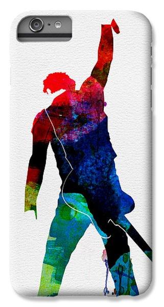 Musicians iPhone 8 Plus Case - Bruce Watercolor by Naxart Studio