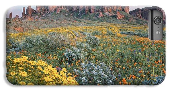 Mountain iPhone 8 Plus Case - California Brittlebush Lost Dutchman by Tim Fitzharris
