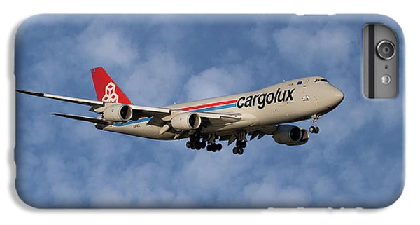 Jet iPhone 8 Plus Case - Cargolux Boeing 747-8r7 1 by Smart Aviation