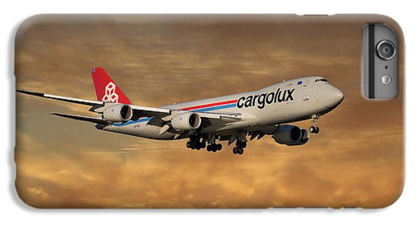 Jet iPhone 8 Plus Case - Cargolux Boeing 747-8r7 2 by Smart Aviation