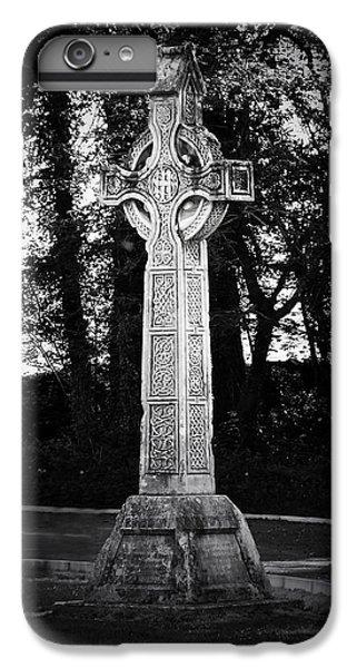 Celtic Cross iPhone 8 Plus Case - Celtic Cross In Killarney Ireland by Teresa Mucha
