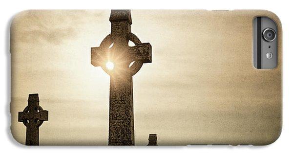 Celtic Cross iPhone 8 Plus Case - Celtic Realm by Evelina Kremsdorf