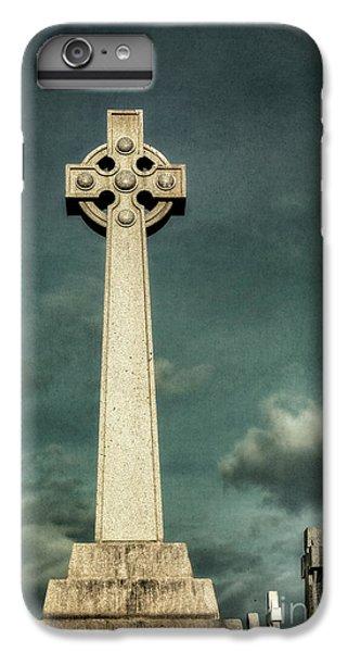 Celtic Cross iPhone 8 Plus Case - Celtic Sanctuary by Evelina Kremsdorf