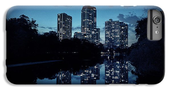 Chicago River iPhone 8 Plus Case - Chicago High-rise Buildings By The Lincoln Park Pond At Night by Bruno Passigatti